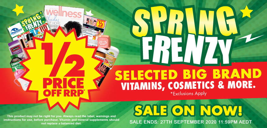 Spring Frenzy Catalogue Out Now