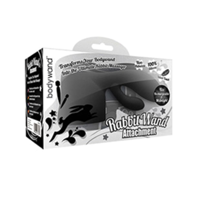 Online Only - Bodywand Rechargeable Rabbit Attachment